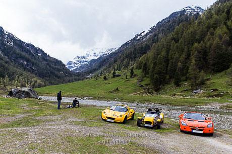 oberems, road trip, suisse,LIR, lotus, lotus élise, caterham, speedster, rachel jabot ferreiro, erjihef photo