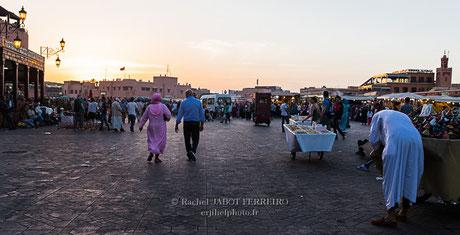 maroc, marrakech,place jemaa el-fna, rachel jabot ferreiro, erjihef photo