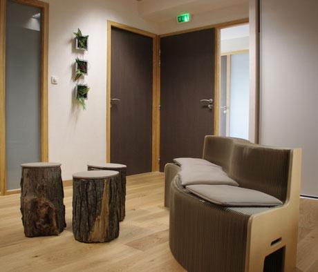 salle d'attente écologique