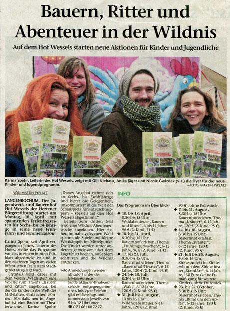 Hertener Allgemeine 8.2.2017