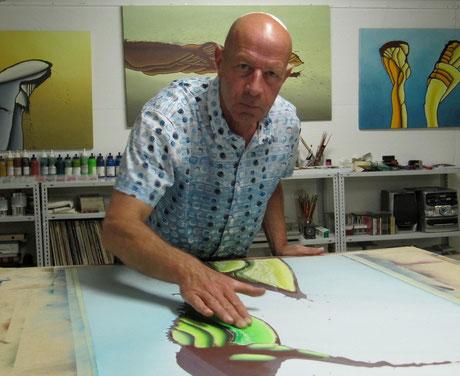 im Atelier, Marcel Neuenschwander