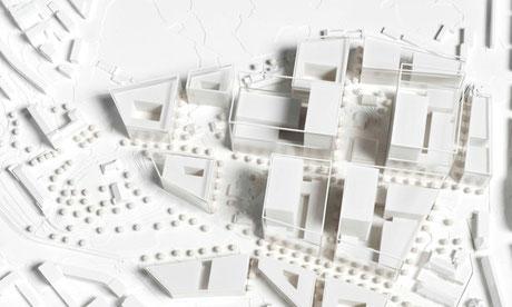 Visualisierung Überbauungsordnung Insel Areal III (Inselspital Bern)