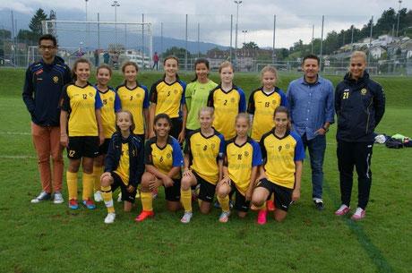Jumiorinnen D, Saison 2015/16