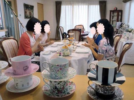 紅茶教室の様子