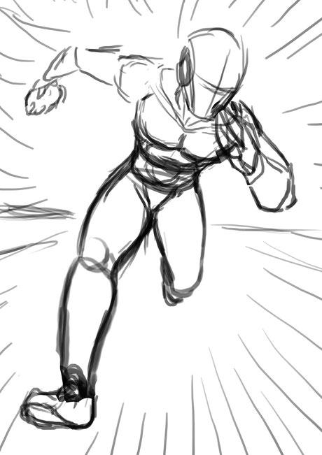 Speeder Sketch