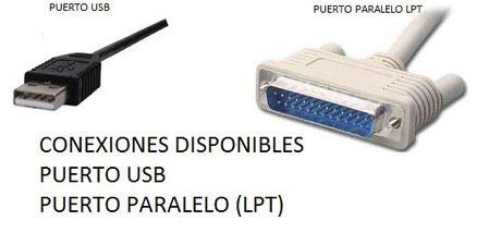 conexiones disponibles para PC