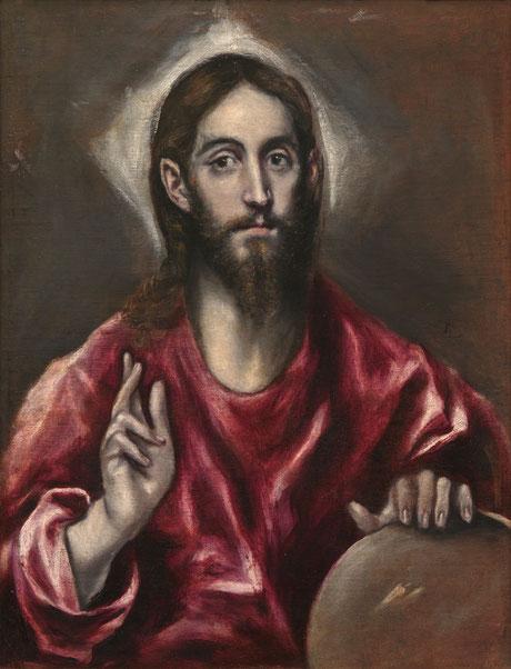 Cristo Pantocrator, Domenikos Theotokopouli s.VII