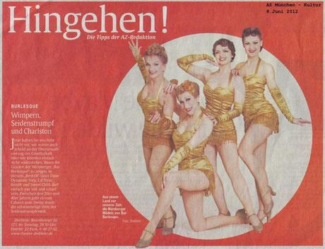 Abendzeitung München, 08.06.12