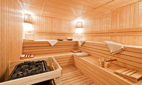 Sauna au Maroc