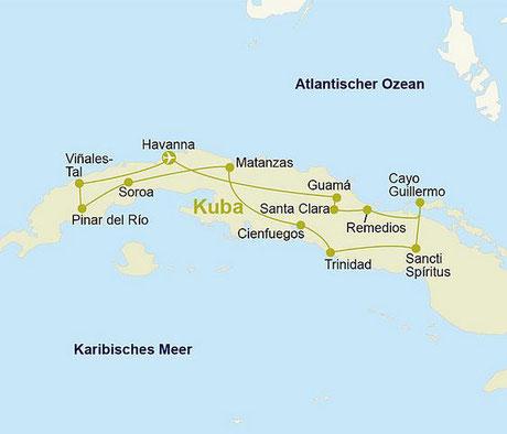 Kuba Rundreise Berge&Meer 2021 incl. Flug günstig buchen mit Expertenberatung vom Kubakenner