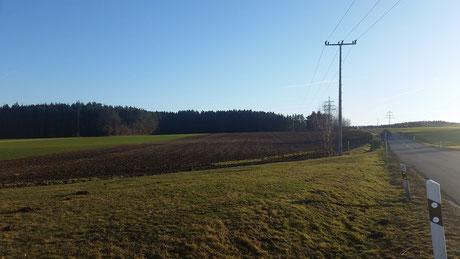 Am Ortsausgang in Richtung Neudorf soll das Seniorenheim entstehen.