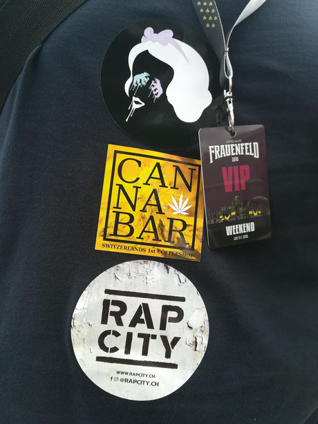 Fabulous Design mit rap City und Cannabar am Frauenfeld