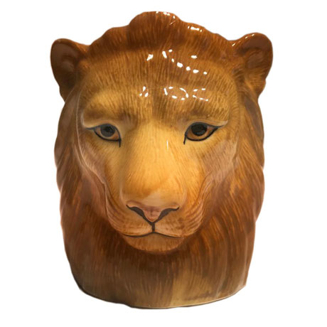 Keramikbecher im Löwendesign von Quail Ceramics