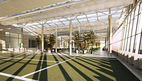 Строительство теннисных кортов в Москве под ключ, сколько стоит построить теннисный корт?