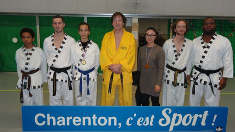 Trophées du sport, gymnase Tony Parker - novembre 2014