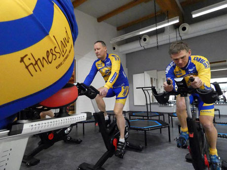 Indoor Cycling Training des Cycling Team Schweinfurt