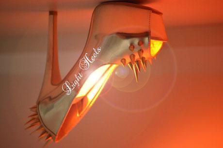 LED Pendelleuchte, LED Schuhleuchte, Light Heels, Sting 3