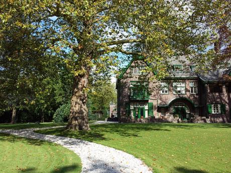 Huize Granville, Parklaan 95 Eindhoven villatuin rijksmonument hoogwaardig groen