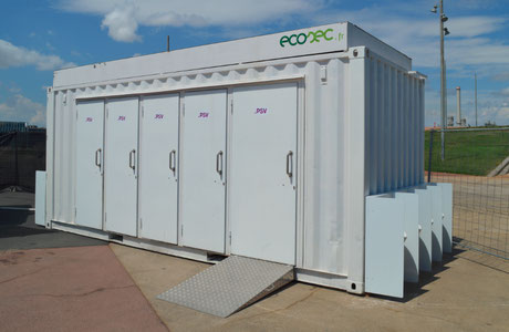 Ecosec Toiletten Container komposttoilette trockentoilette