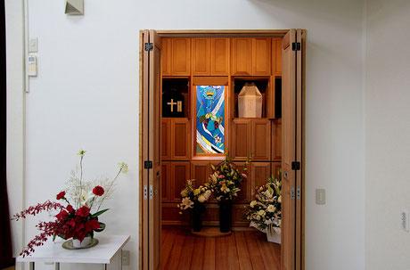 西多賀聖書バプテスト教会 納骨室