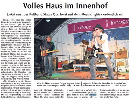 Westfälisches Volksblatt vom 13.8.2018
