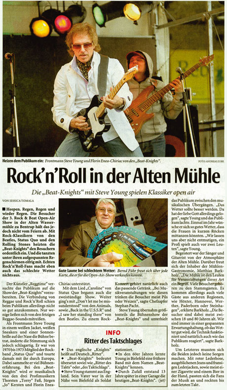 Beat-Knights, Alte Wassermühle 2011
