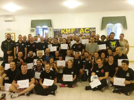 COURSE INSTRUCTORS KMF ALAIN COHEN 12-13 OCTOBER - ITALY - ROMA