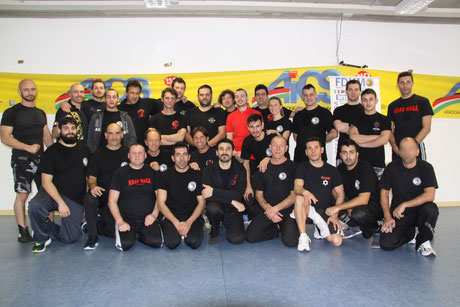 INSTRUCTORS Krav Maga FDKM - KMF ITALY January 2014