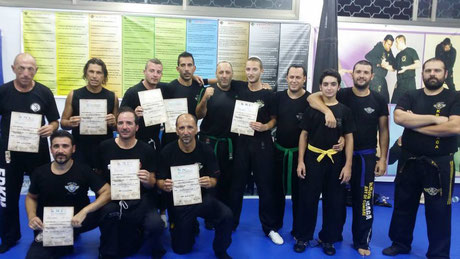 FDKM INSTRUCTORS COURSE Israel Ashdod 19-23 October 2014