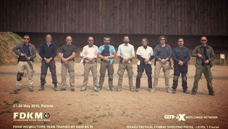 Israeli Tactical Combat Shooting Pistol course, Level 1 Poland May 2015