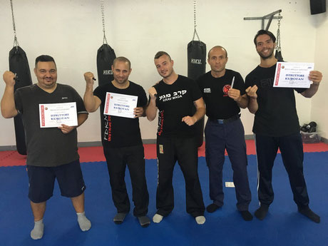KRAV MAGA BERNA SWITZERLAND INSTRUCTORS - 3-4 SEPTEMBER 2016