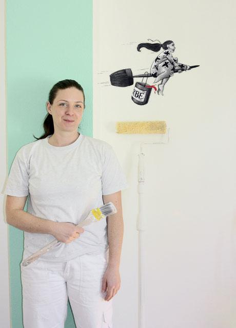 Natascha Burkhardt – hier malt die Chefin persönlich – www.natascha-burkhardt.ch