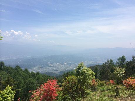 高鳥屋山からの眺望