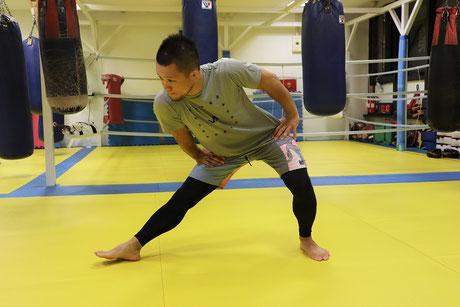 湘南格闘クラブ 練習 ストレッチ