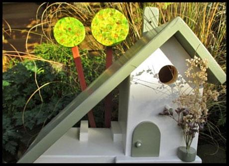 Houten Nestkastje, Nestkastje Toscane, Vogelhuisje bouwen, vogelhuisje toscane