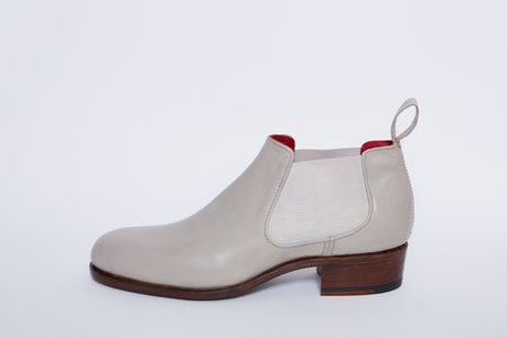 Chelsea boot, anja burisch Massschuhe, handmade shoes, lena jürgensen, made to measure, leather
