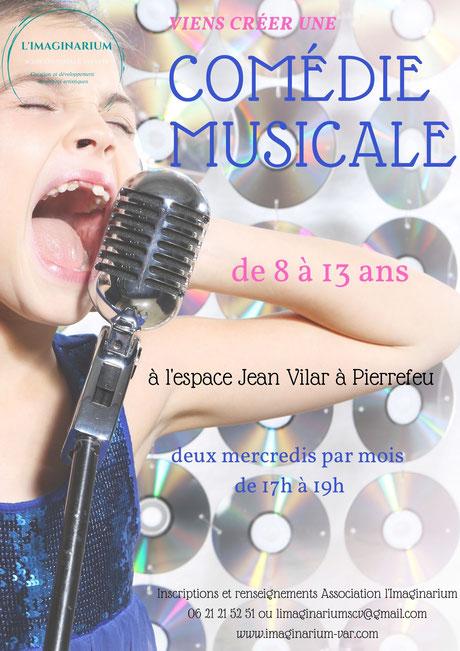 imaginarium concerts concert musique var toulon comédie musicale auteur compositeur artiste enfants chant danse theatre pierrefeu espace jean vilar