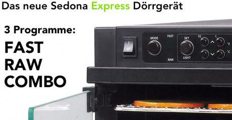 sedona express automatikprogramme