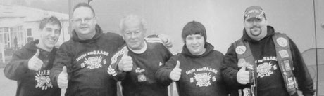 HSV Hermann Rieger mit Mitgliedern des OFC