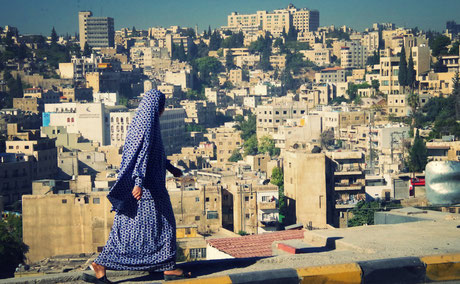 Frau in Amman