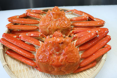 蟹のネット通販は福井県の真洋水産で