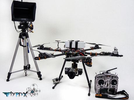 Luftbild Equipment Ausrüstung FPV