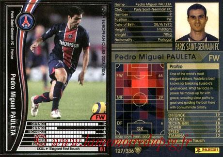 N° 127 - Pedro Miguel PAULETA