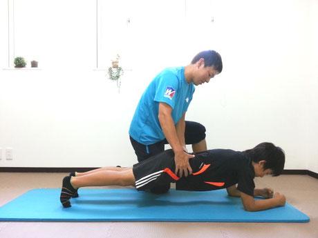 弱い筋肉のトレーニング