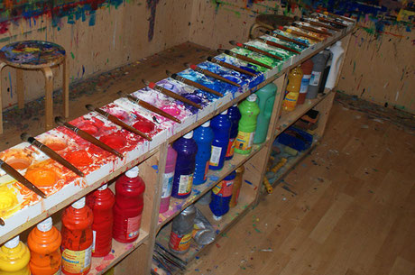 Freies Malen, Ausdrucksmalen, Malkurse, Malworkshops, Kreativität