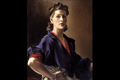 Autoportrait (1944) ©  National Portrait Gallery, Londres