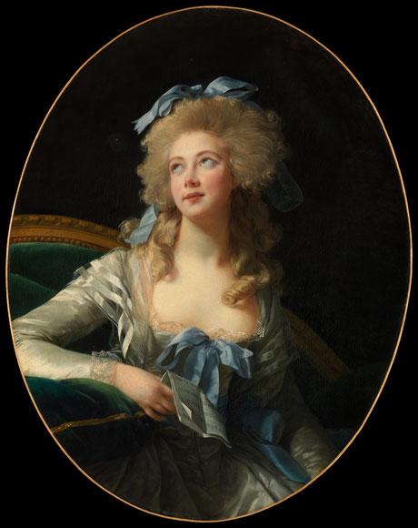 Madame Grand (1783)  © Elisabeth Vigée-Lebrun, Metropolitan Museum, New York