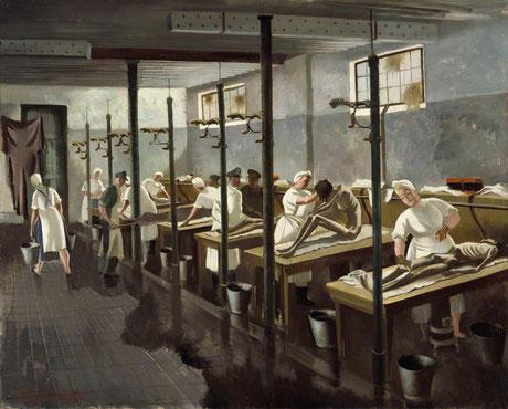 Human Laundry, Belsen April (1945) © Imperial War Museum London