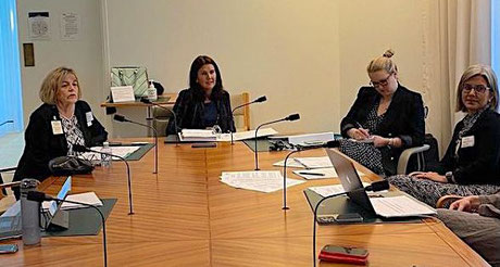 Meeting with Minister Hume, Canberra