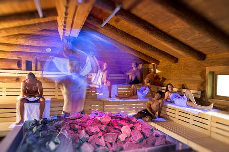 Cron4 Sauna - Garni Hotel Clara B&B Riscone Kronplatz Dolomites